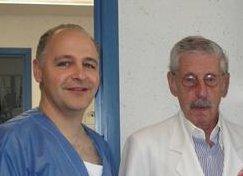 Foto con el Dr. Ortiz Monasterio en su despacho