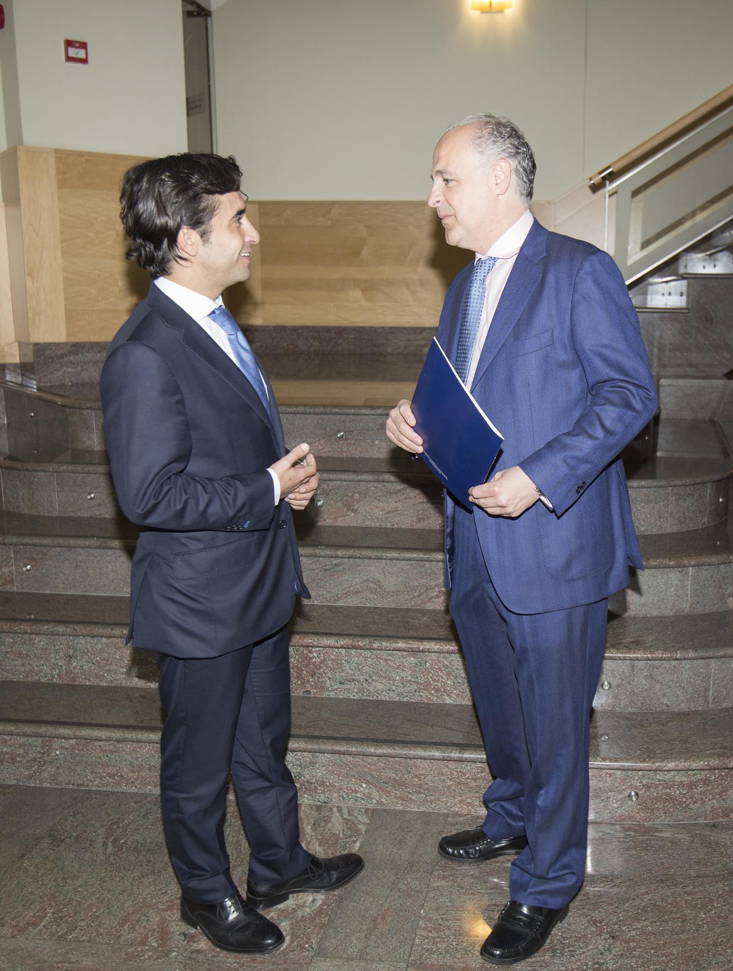 Con el alcalde de Ferrol 2013