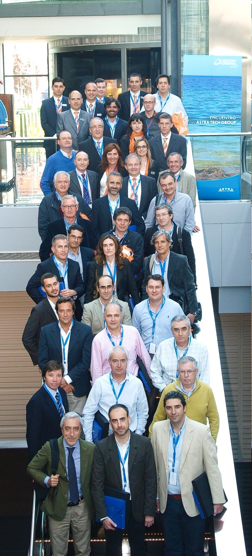 Foto de primera  reunión del grupo PEERS en Barcelona 1010