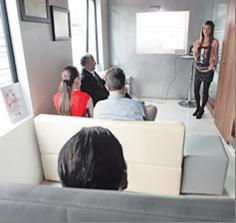 El centro médico Ferreras del Cantón presenta un nuevo método para eliminar grasas: se trata de una técnica denominada Carboxiterapia y que aseguran que se practica en los centros más vanguardistas del mundo, incluido Ferrol. JOSÉ PARDO La voz de Galicia.
